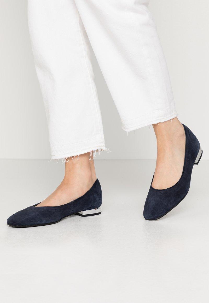 Esprit - PIKA BAL - Ballet pumps - navy