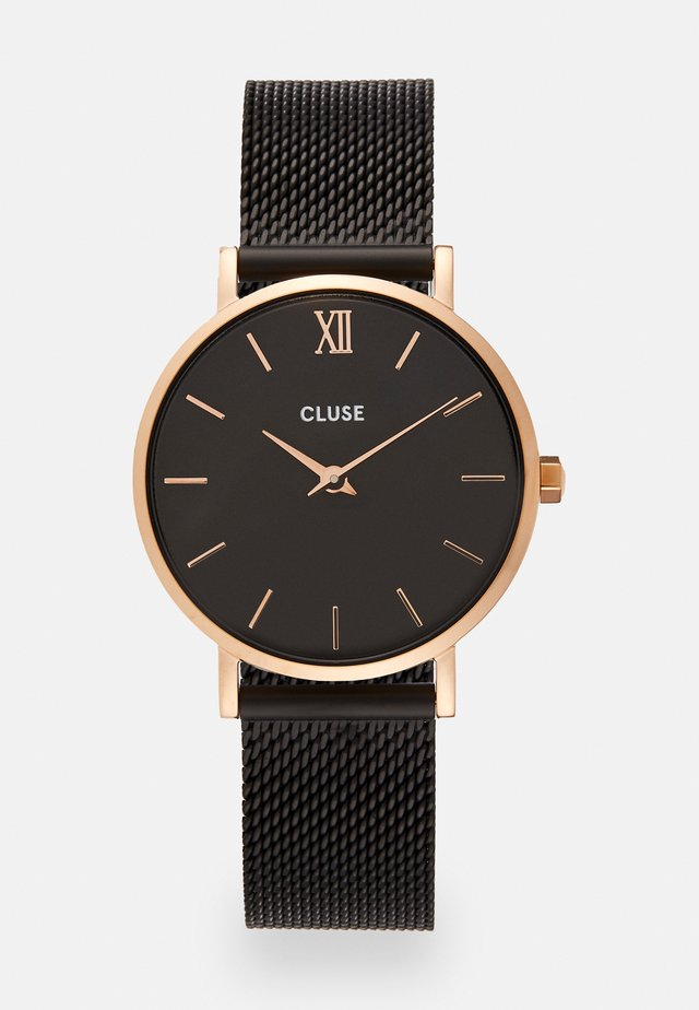 MINUIT - Rannekello - rose gold-coloured/black
