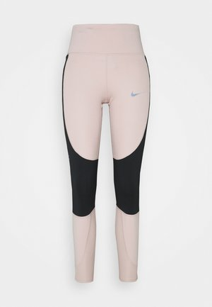 RUN EPIC  - Leggings - stone mauve/black