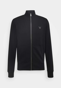 GANT - THE ORIGINAL FULL ZIP - Huvtröja med dragkedja - black - 3