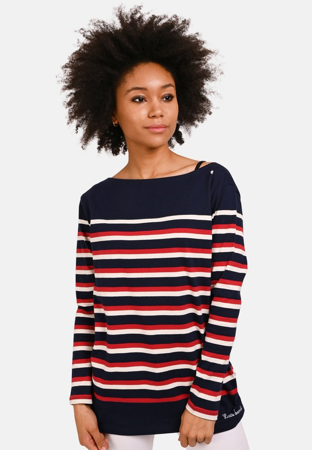 TIMATINE  - Long sleeved top - navy blue