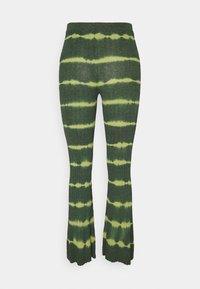 sandro - Trousers - vert bouteille - 1