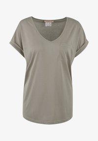 Smith&Soul - Basic T-shirt - mud - 0