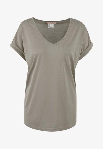 Basic T-shirt - mud