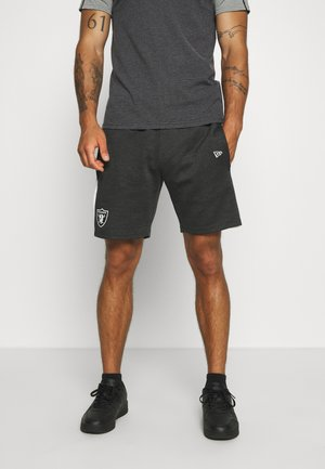 NFL CONTRAST DETAIL SHORTS OAKLAND RAIDERS - Sports shorts - dark grey
