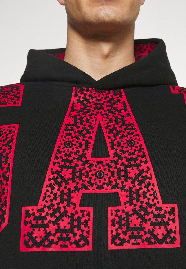 GAP Bluza - true black/czerwony Odzież Męska BRBP
