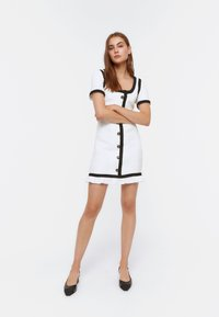 Uterqüe - Day dress - white - 0