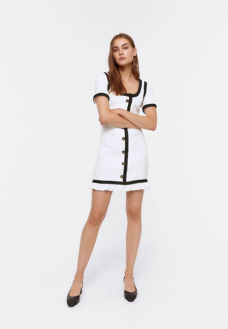 Uterqüe - Day dress - white