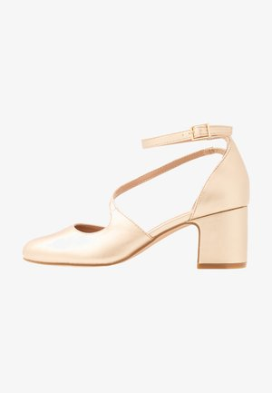 Klassiske pumps - light gold