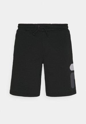 ROBERT - Sports shorts - black