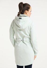 Schmuddelwedda - Zip-up hoodie - rauchmint melange - 2