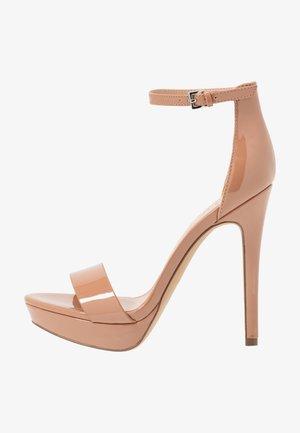 WESTKAAP - Sandaler med høye hæler - beige