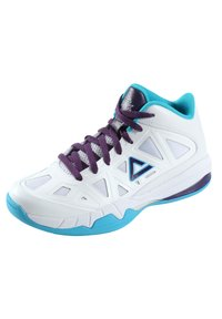 PEAK - CAROLINA - Basketball shoes - weiß - blau - 1