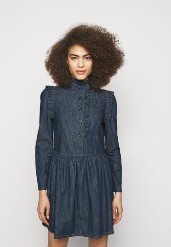 Denim dress - denim blue