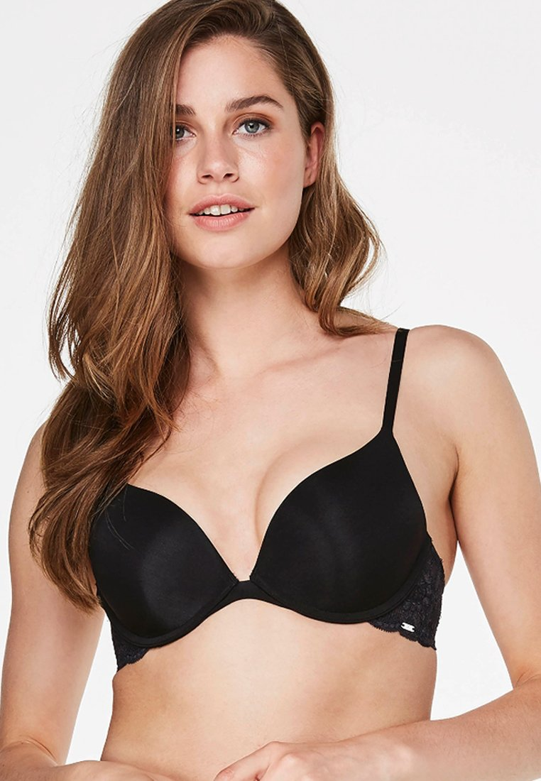 Hunkemöller - ANGIE - Push-up BH - black