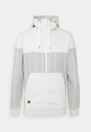 GARZA - Zip-up sweatshirt - ecru mix
