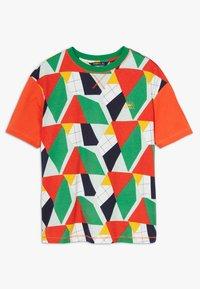 O'Neill - BOXY - T-shirt print - green/yellow - 1