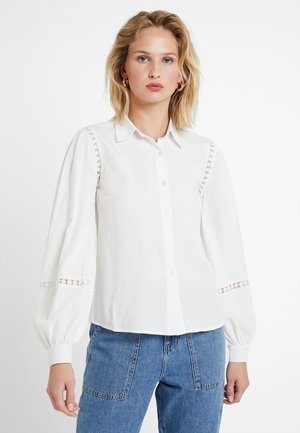 PISTON - Button-down blouse - white