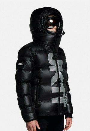 Down coat - dark black