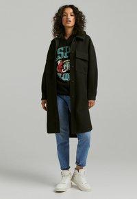 Bershka - Classic coat - black - 1