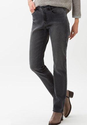 STYLE CAROLA - Straight leg jeans - used grey