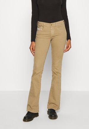 D-EBBEY - Jeans bootcut - beige