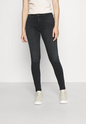 MID RISE - Jeans Skinny Fit - denim black
