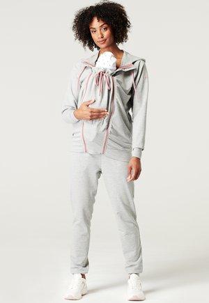 Zip-up sweatshirt - medium grey