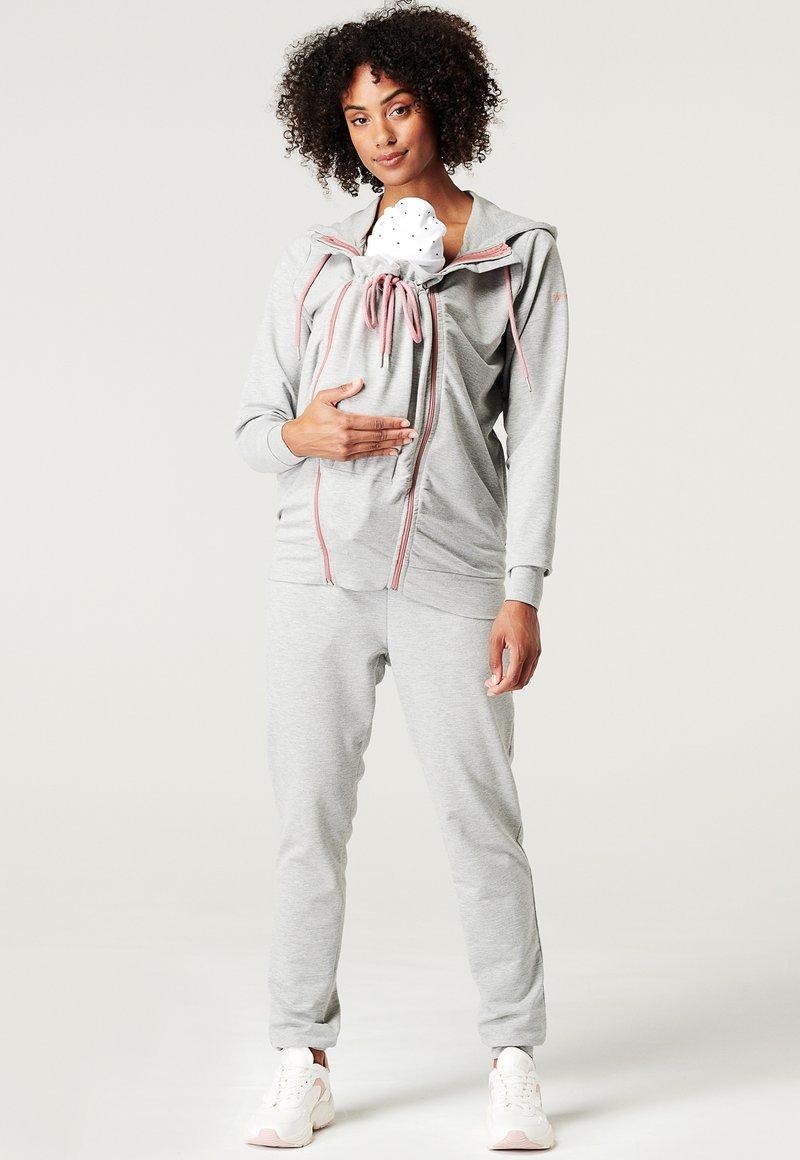 Esprit Maternity - Sweatjakke /Træningstrøjer - medium grey