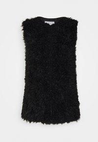ICHI - TITO - Waistcoat - black - 4