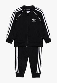 adidas Originals - SUPERSTAR SET - Zip-up hoodie - black/white - 0