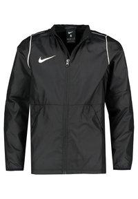 Nike Performance - PARK 20 REPEL REGENJACKE KINDER - Verryttelytakki - schwarz / weiss (910) - 2