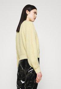 Weekday - ELINA - Jumper - light yellow - 2