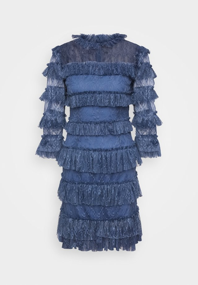CARMINE DRESS - Cocktailklänning - indigo blue