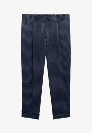 LINEAS - Bukse - dunkles marineblau