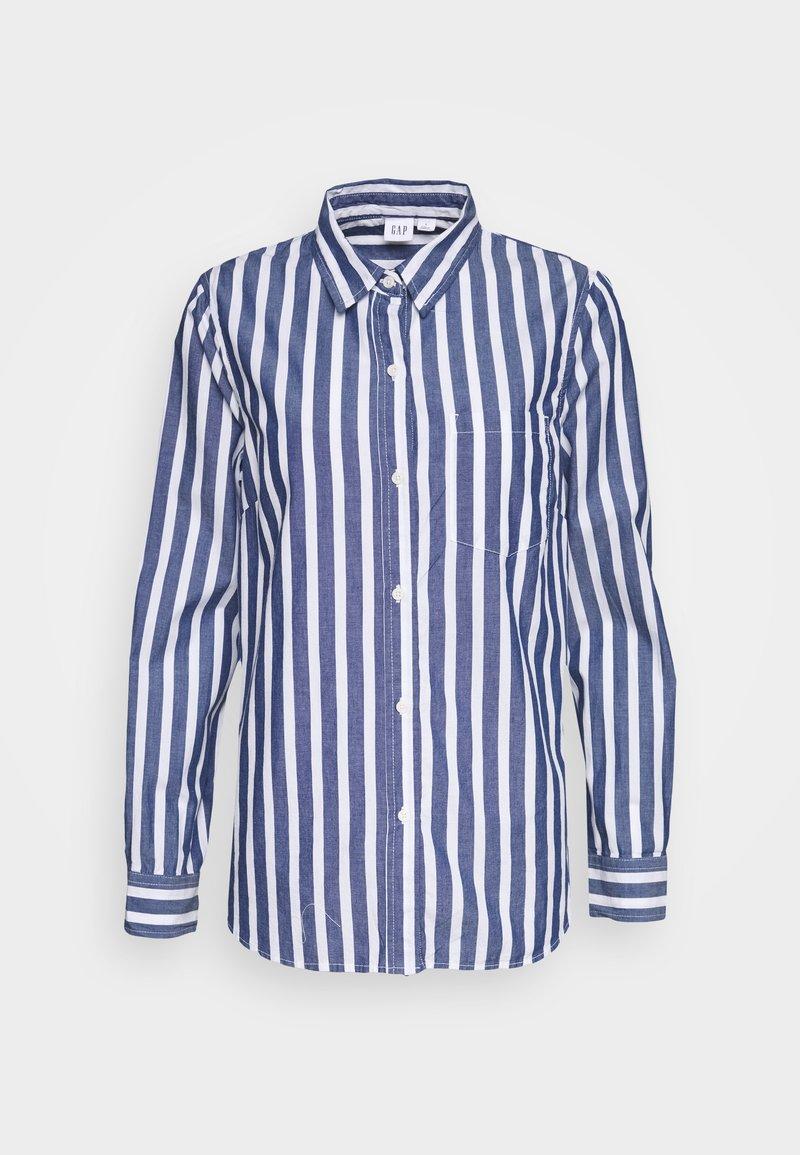 GAP - Button-down blouse - bold blue