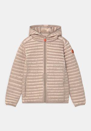 IRIS HOODED UNISEX - Light jacket - sand beige