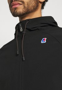 K-Way - RAINER FUNCTION UNISEX - Summer jacket - black pure - 5
