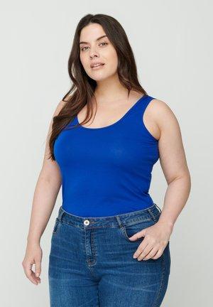 Top - blue