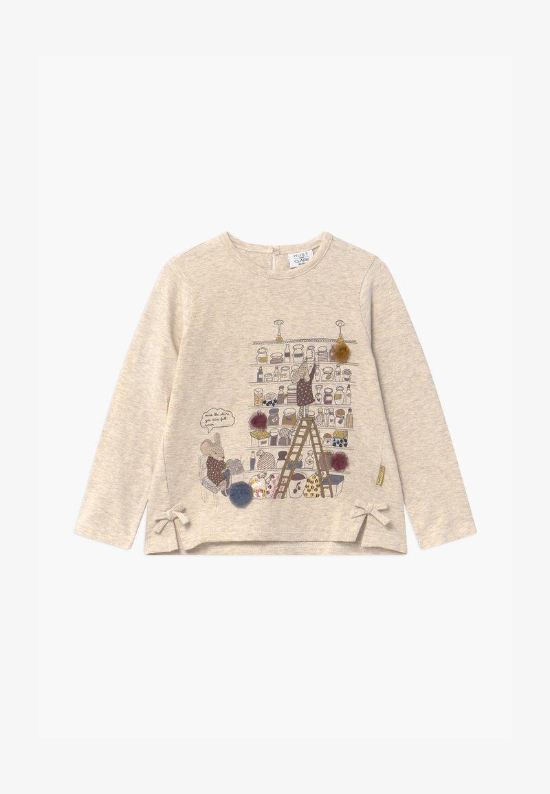 Hust & Claire - AILINE  - Langærmede T-shirts - wheat