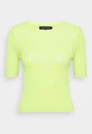 CREW NECK  - Print T-shirt - acid lime