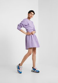 Opening Ceremony - MINI RIB DRESS - Day dress - purple - 1