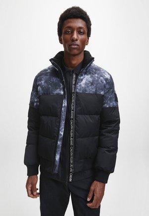 CLOUD PRINT  - Winter jacket - ck black