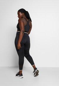 Nike Performance - AIR PLUS - Medias - black - 2