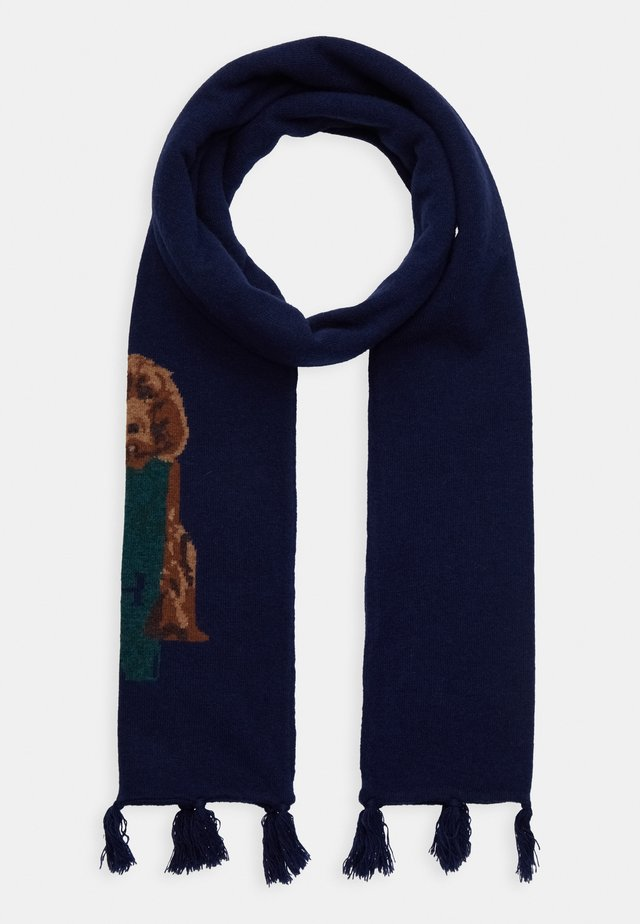 HARRY SCARF - Chusta - navy