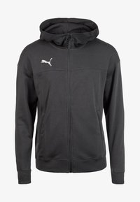 Puma - CUP CASUALS KAPUZENJACKE - Sports jacket - anthracite - 0