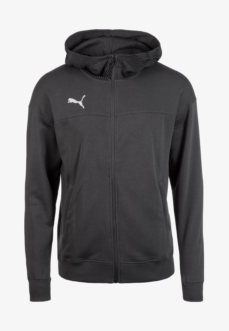 Puma - CUP CASUALS KAPUZENJACKE - Sports jacket - anthracite