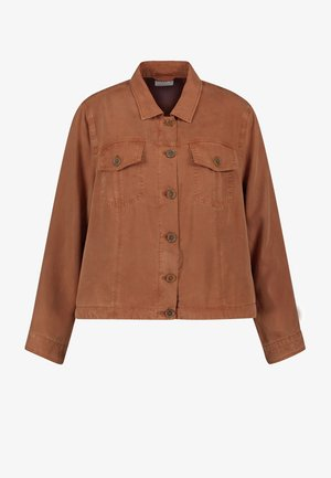 Summer jacket - mocca brown