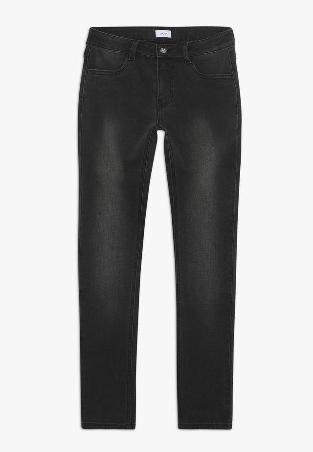 PAINT ON - Jeansy Slim Fit - dark grey