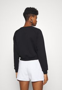 Alpha Industries - BOXY - Sweater - black - 2